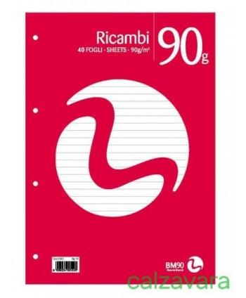 RICAMBIO QUADERNO 15X21...