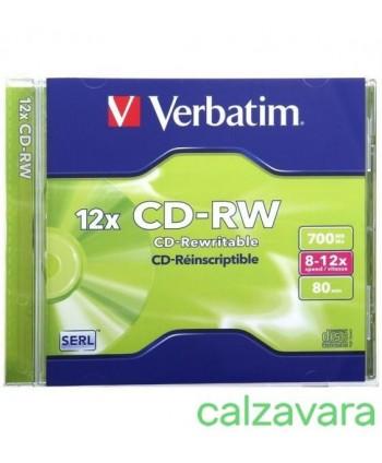 VERBATIM CD-RW 700MB 32X...