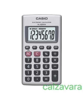 CALCOLATRICE CASIO HL-820VA...