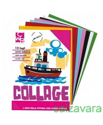 ALBUM COLLAGE 6 FOGLI CARTA...